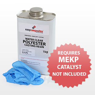 Water Clear Polyester Casting Resin