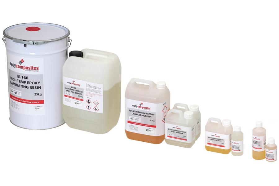 EL160 High Temperature Epoxy Laminating Resin - 170 C HDT