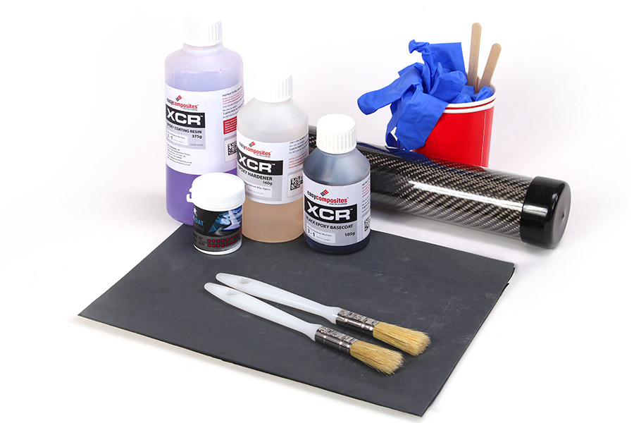 Carbon Fibre (Fiber) Skinning / Wrapping Starter Kit - Easy