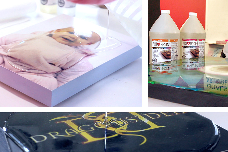 ArtResin Clear Epoxy Coating for Artwork - UK Supplier - In