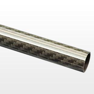 16mm(14mm) Woven Finish Carbon Fibre Tube