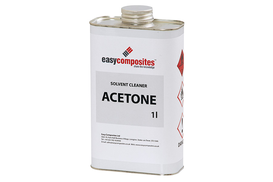 Acetone Solvent Cleaner - Easy Composites
