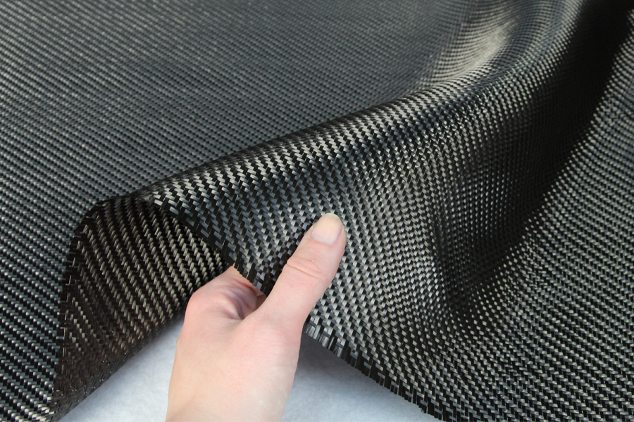 Carbon Fibre Cloth Fabric 2 2 Twill Weave 3k 200gsm