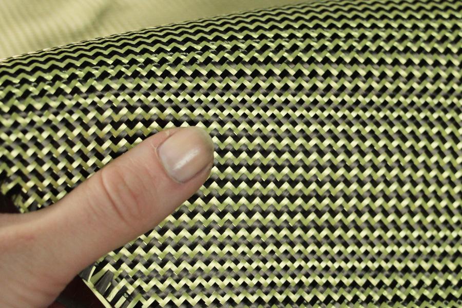 image result for carbon kevlar hybrid cloth