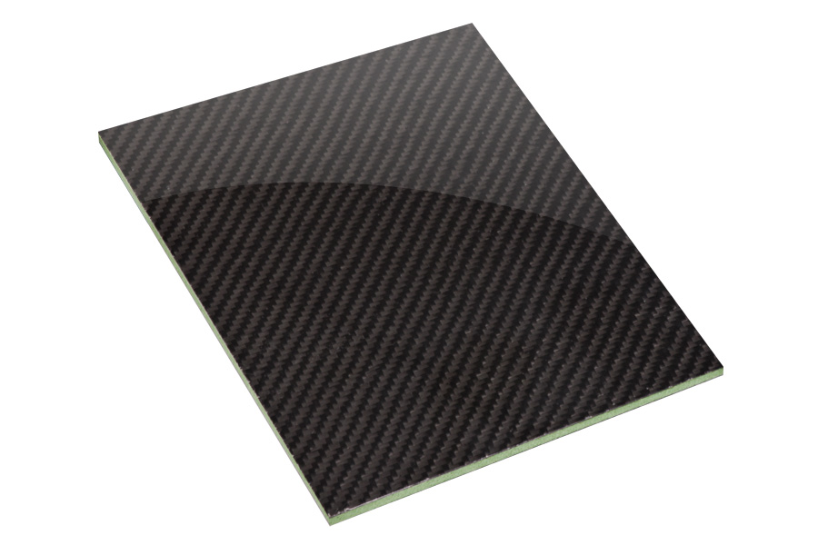High Strength Carbon Fibre Foam Core Panel 6mm Easy