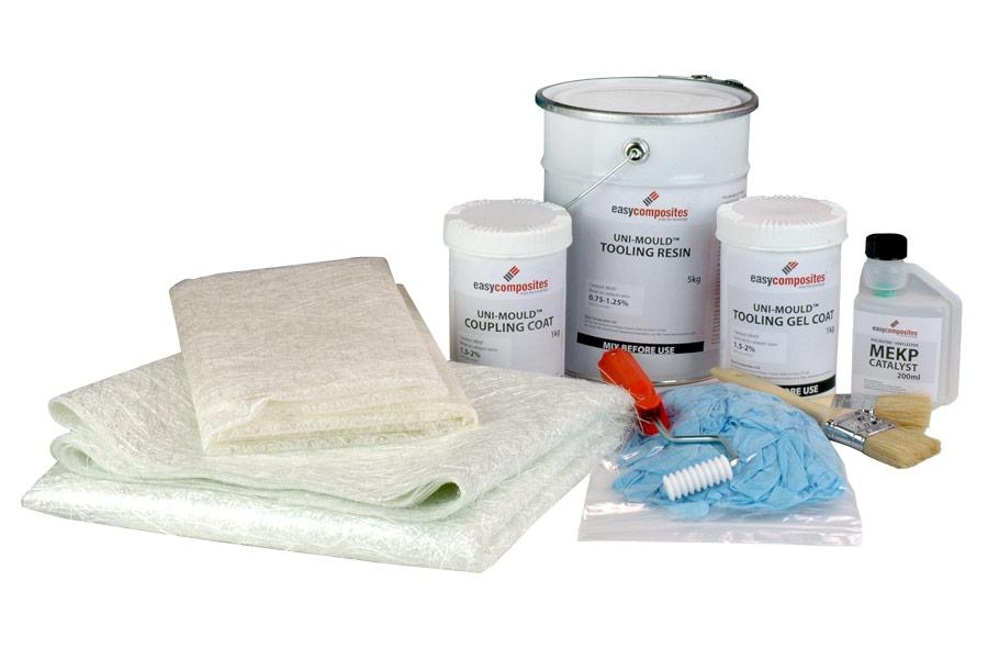 Uni-Mould Complete Fibreglass Mould Making Kit for Epoxy