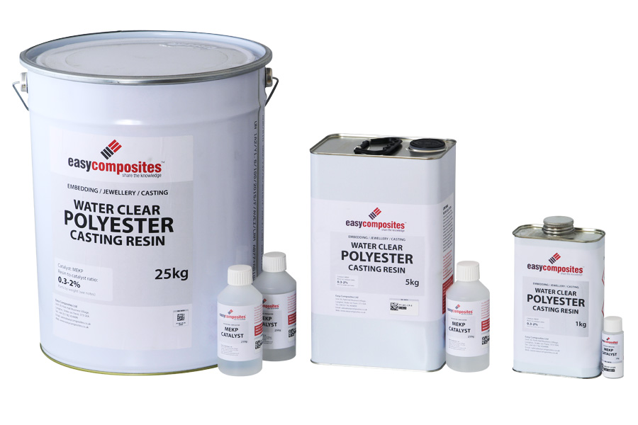 Clear Polyester Spray Paint