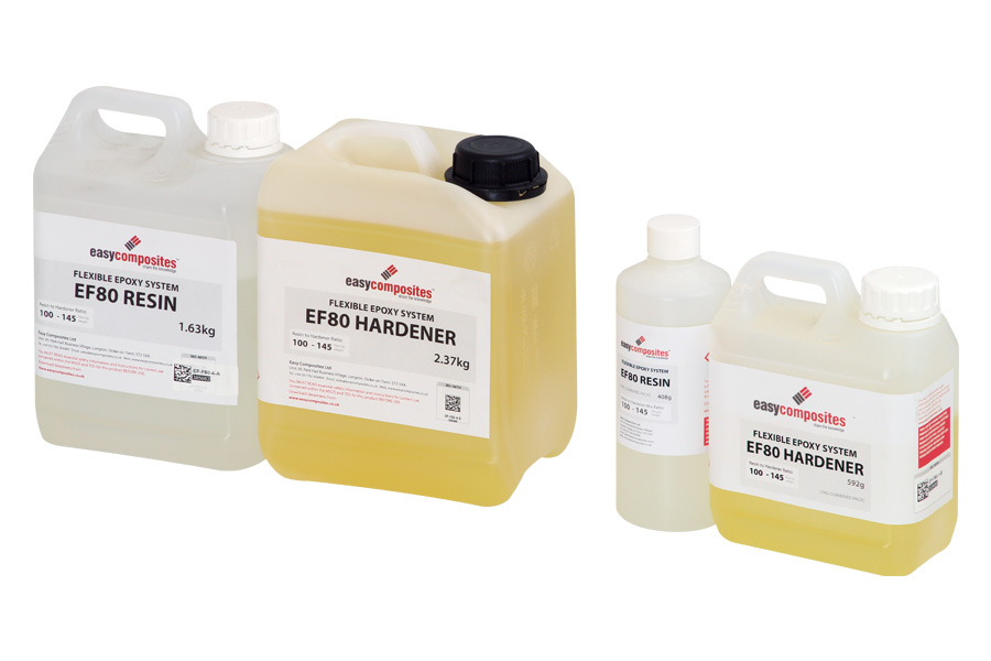 EF80 Flexible Epoxy Resin System for Coating or Laminating - Easy